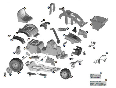 John Deere Mini Power Loader Parts